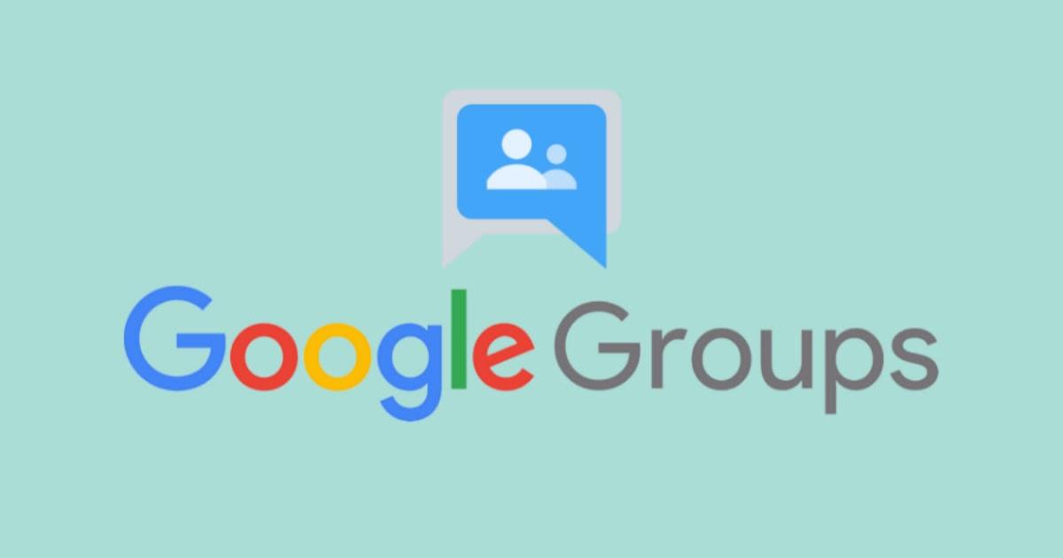 Google Groups Assm