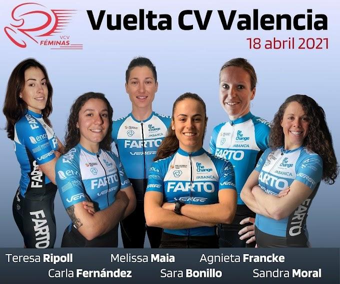 El Team Farto - BTC femenino disputará la Volta CV féminas