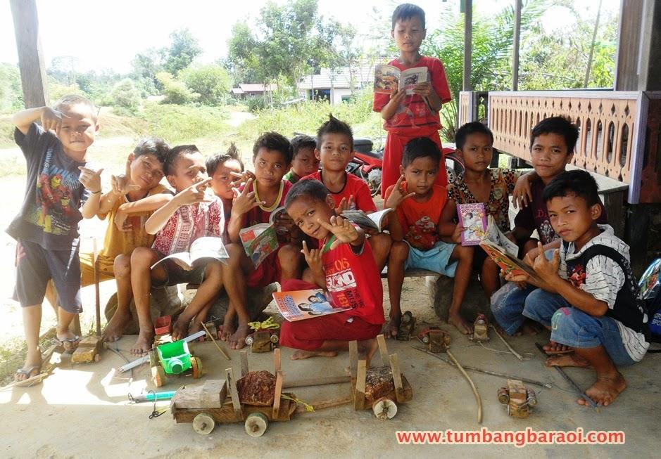 pendidikan anak-anak di desa terpencil