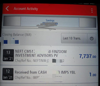 Indmoney withdraw Payment Proof