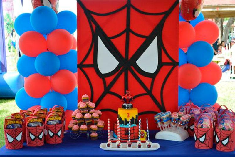 30 ideias simples para festa do homem aranha guia tudo festa 30 ideias simples para festa do homem aranha altavistaventures Gallery