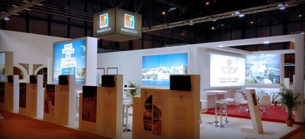 Alquiler y venta de equipos audiovisuales pantallas de for Oficina de turismo de marruecos