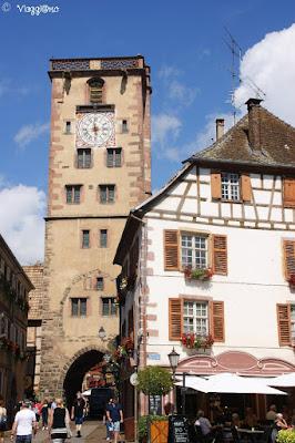 La Tour des Bouchers uno dei simboli di Ribeauvillé