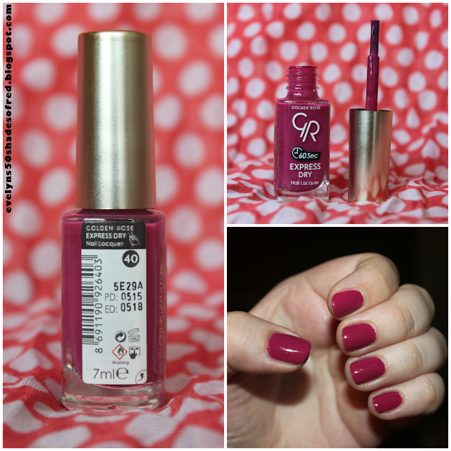 Golden Rose Express Dry Nail Polish #40