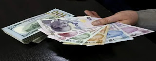 سعر الليرة التركية مقابل العملات الرئيسية السبت 19/9/2020