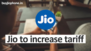 Jio Increase 4G data charges