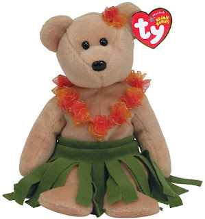 Ty Hawaiian teddy bear
