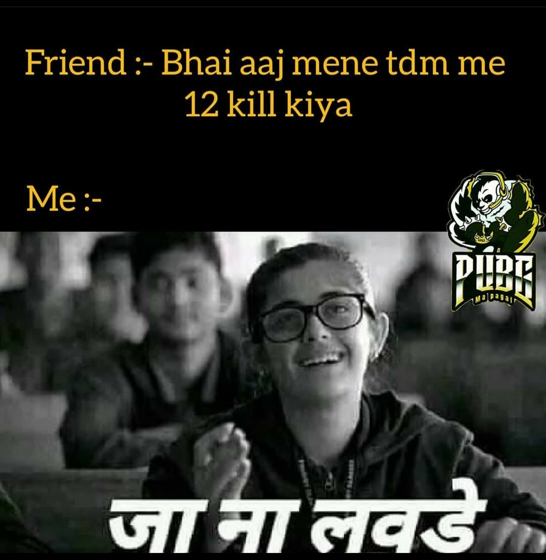 PUBG Funny memes Hindi Download