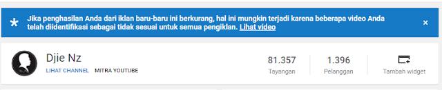 alasan Video Tidak bisa dipasang iklan