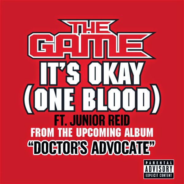 Game - It's Okay (One Blood) - Single Cover