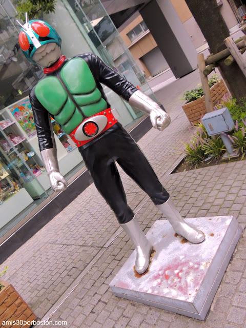 Personajes Animados por las Calles de Tokio