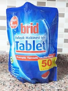 Brid Bulaşık Makinesi Tableti