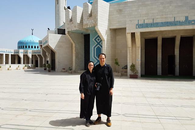 Túnica para cubrirse en el interior de la Mezquita