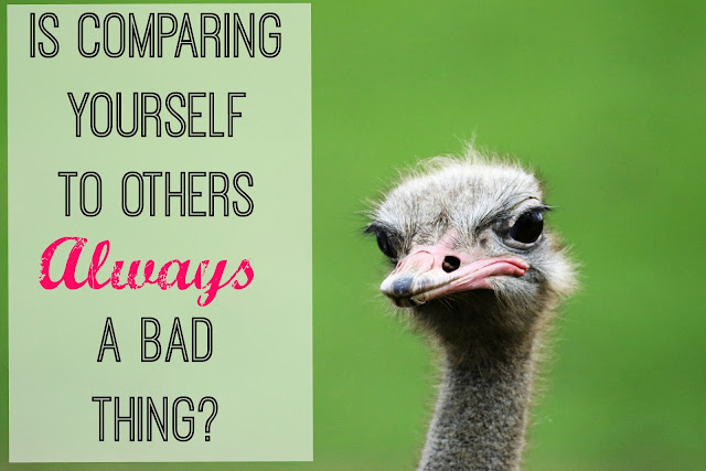 Be Inspired without comparing yourself to them