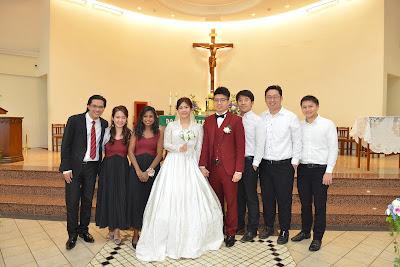 bridesmaid and grooms man bridal party