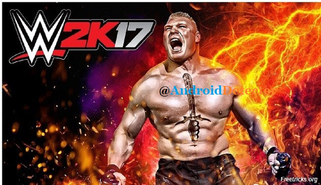 WWE 2k17 Apk Data +OBB FILES Android [PSP+PPSSPP] [Latest]