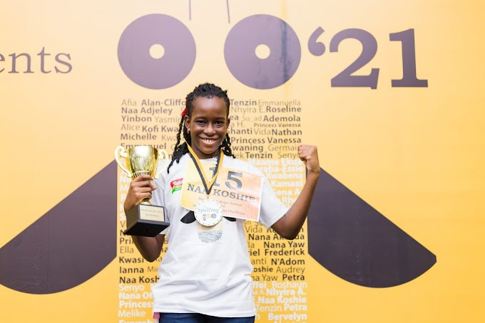 Naa Koshie Manyo-Plange To Represent Ghana At The 2021 Scripps Spelling Bee Championship