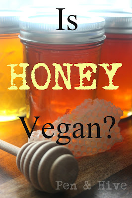 can vegans eat honey