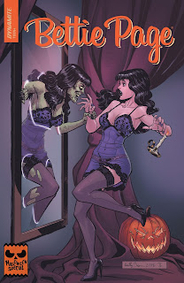 Cover of Bettie Page Halloween Special 2018 from Dynamite Entertainment