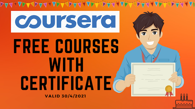 Coursera free courses with certificate   9 Courses Celebrating Birthday of 9 Years