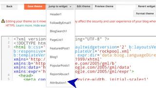 ব্লগার থেকে powered by blogger - Attribution Gadgets কিভাবে রিমুভ করে