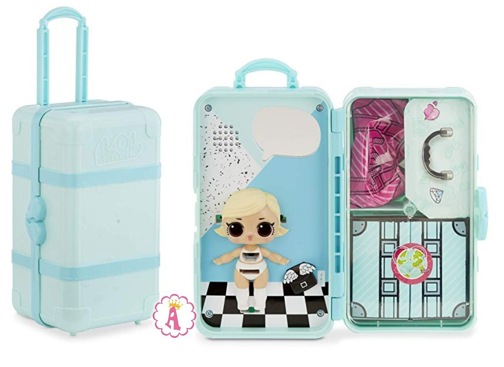 Кукла Лол Сюрприз As If Baby в голубом чемоданчике