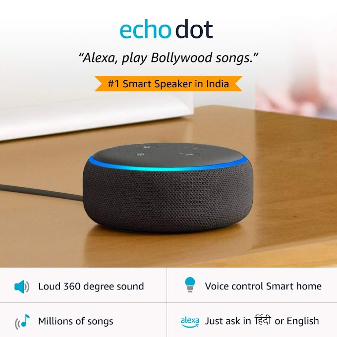 Alexa Echo Dot Black smart speaker