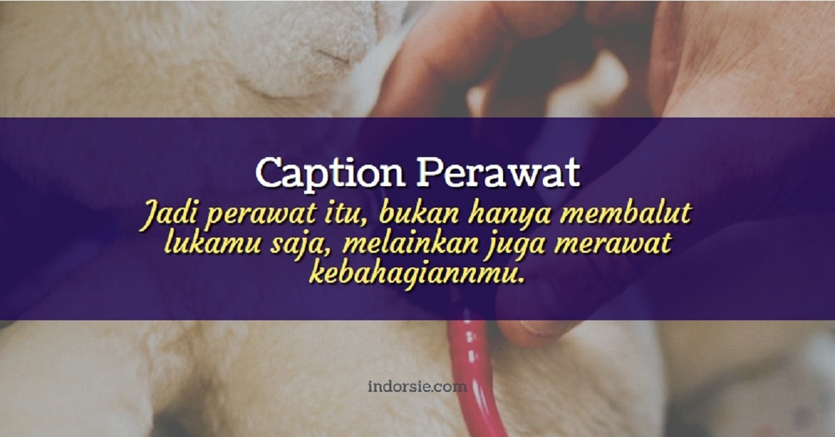 caption perawat