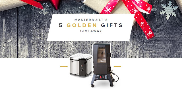 MASTERBUILT 5 GOLDEN GIFTS SWEEPSTAKES