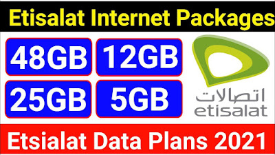 Etisalat internet packages 2021