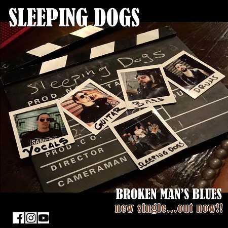 """SLEEPING DOGS: Δείτε το video για το νέο single """"Broken Man's Blues"""""""