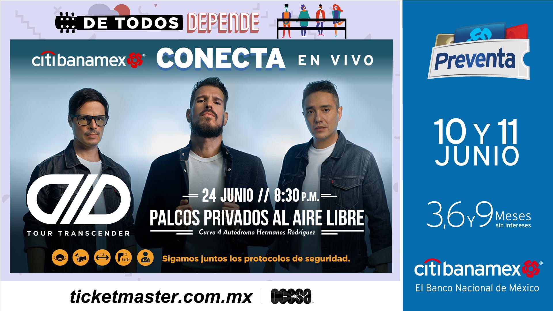 Concierto DLD Autódromo Hermanos Rodríguez