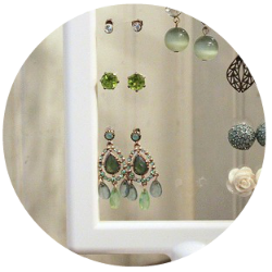 DIY Earring Stand