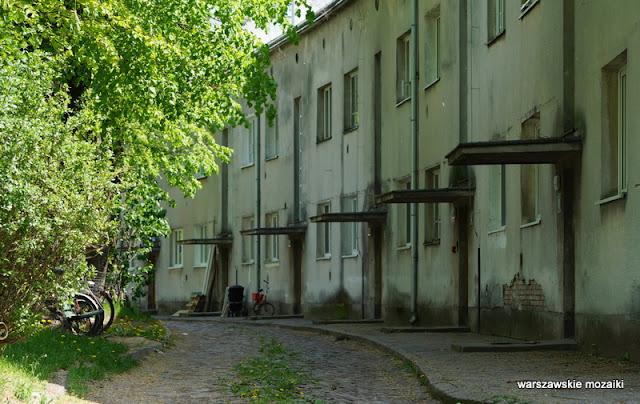 Warszawa Warsaw miasteczko konie Służewiec Ursynów