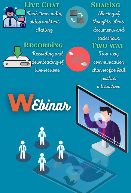 Features of webinar