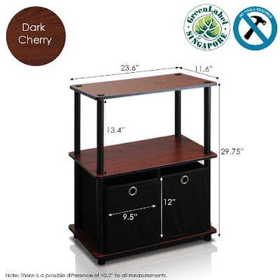 Multipurpose Storage Shelf with Simple Stylish Design