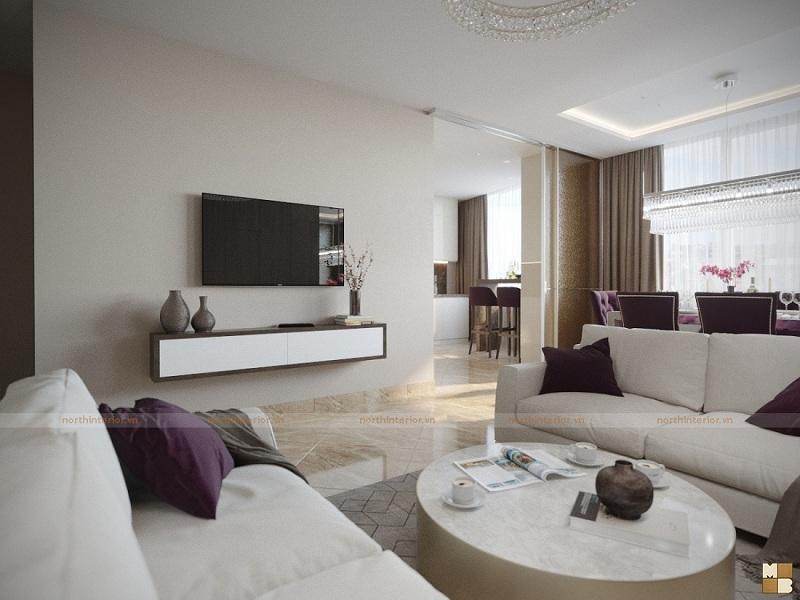 Tư vấn thiết kế nội thất chung cư hiện đại theo xu hướng năm 2018 - H3