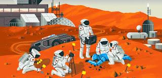 حقائق عن كوكب المريخ