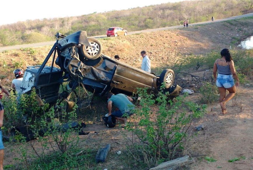 Sargento morre em acidente