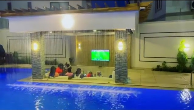 Jude Okoye shows off his massive pool as he turns a year older (Videos/photos)