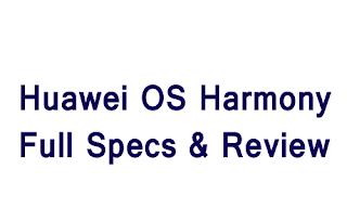 Huawei Os Harmony Details