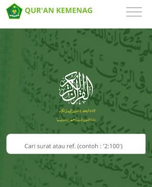 Situs Resmi Kemenag untuk Al-Quran Digital Beserta Tafsir dan Audio