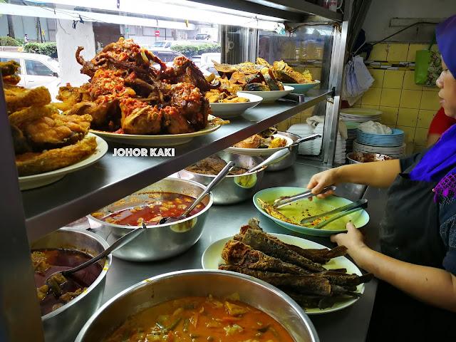 Nasi Padang Sukaramai near City Square Mall Johor Bahru