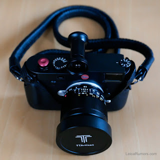 Объектив TTArtisan 11mm f/2.8 с камерой Leica M10