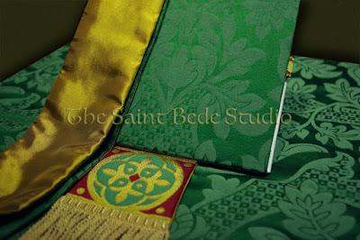Green Gothic Vestments