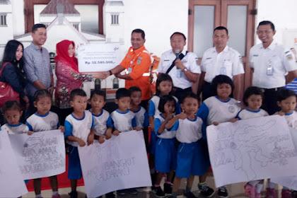 PT KAI Percayakan Donasi Melalui PMI Jateng Untuk Sulteng