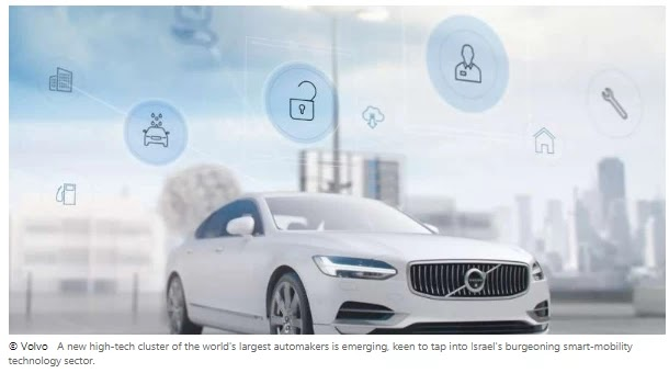 Volvo Joins the Crowd of Automakers Setting Up in Israel