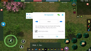 Hack Speed game Võ Lâm Hiệp Khách offline