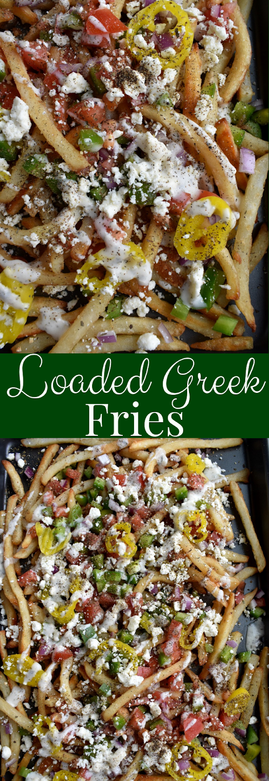 Loaded Greek Fries recipe
