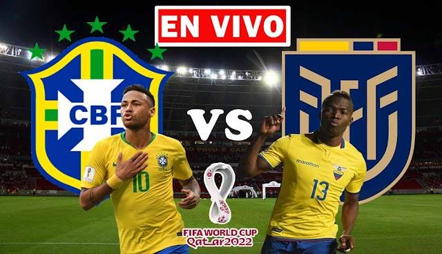 EN VIVO | Brasil vs. Ecuador, Jornada 7 de las Eliminatorias Sudamericanas ¿Dónde ver el partido en Tv online gratis en internet?